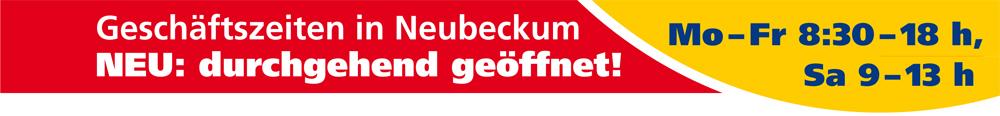 Farben Roos in Oelde und Neubeckum – neue Geschäftszeiten in Neubeckum