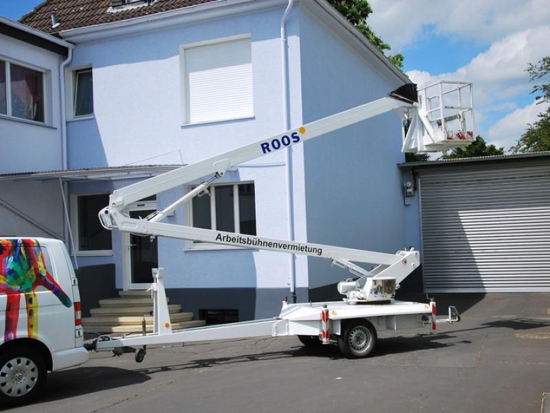 Farben Roos in Oelde und Neubeckum – Arbeitsbühnenvermietung