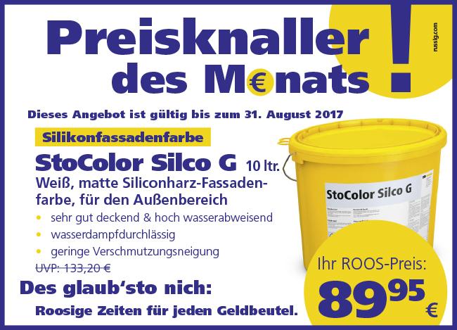 Farben Roos in Oelde und Neubeckum – Preisknaller des Monats
