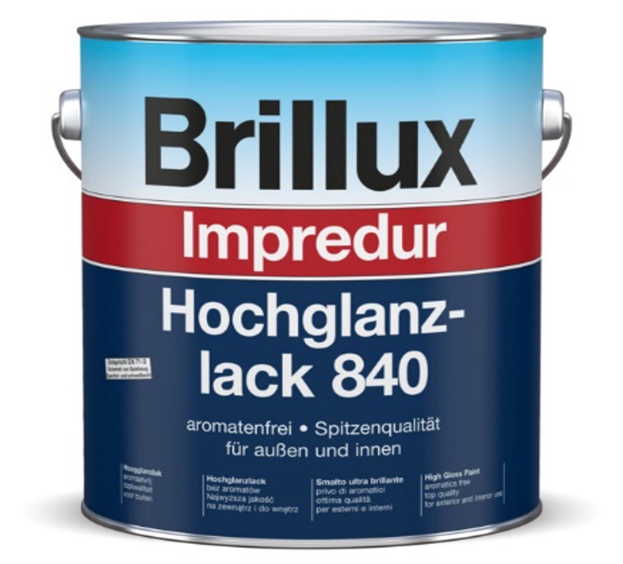 Brillux Impredur Hochglanzlack 840 für Hochwertige Lackierungen Image