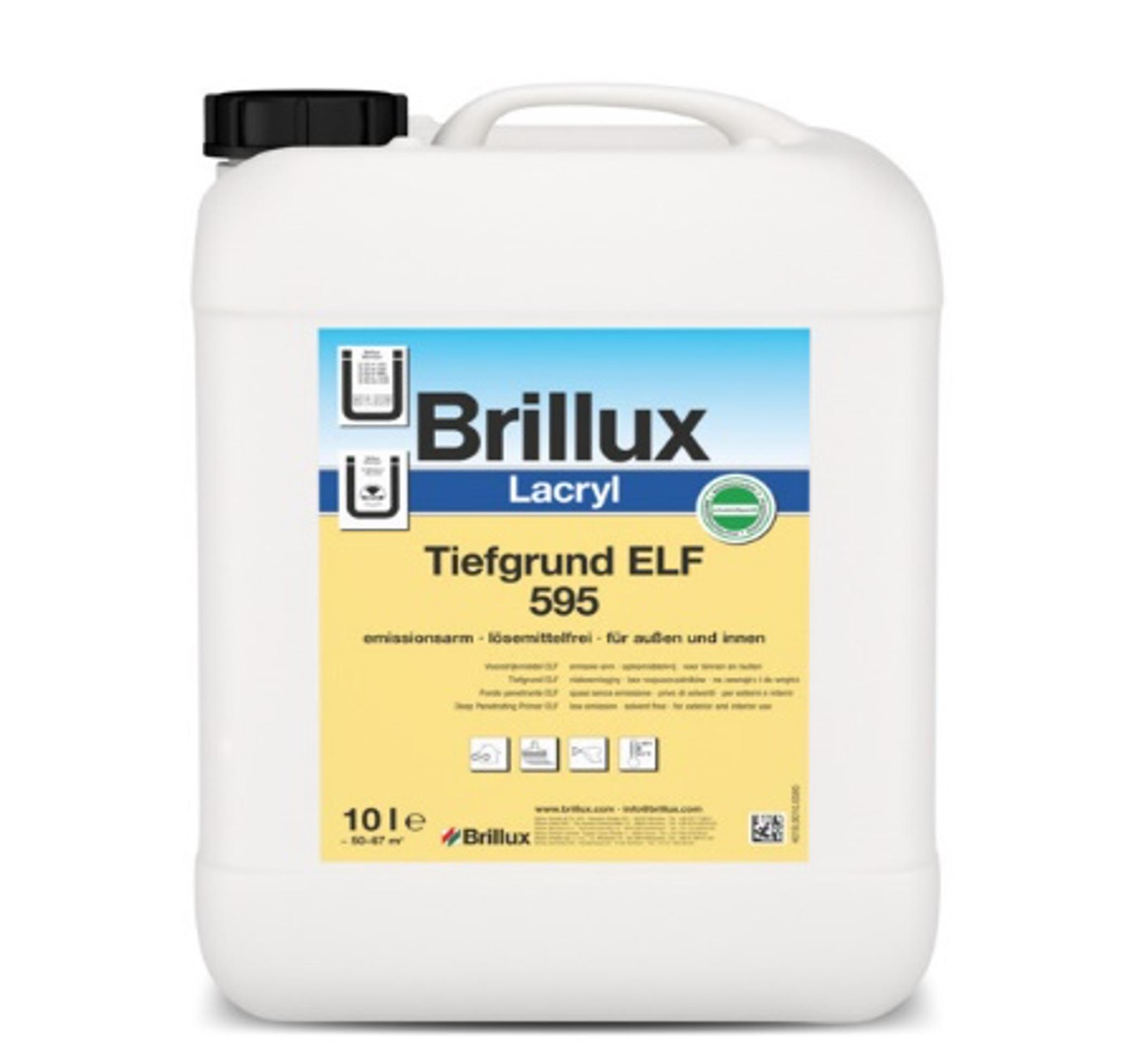 Brillux Lacyrl Tiefgrund ELF 595 zum Grundieren von saugfähigen Untergründen Image