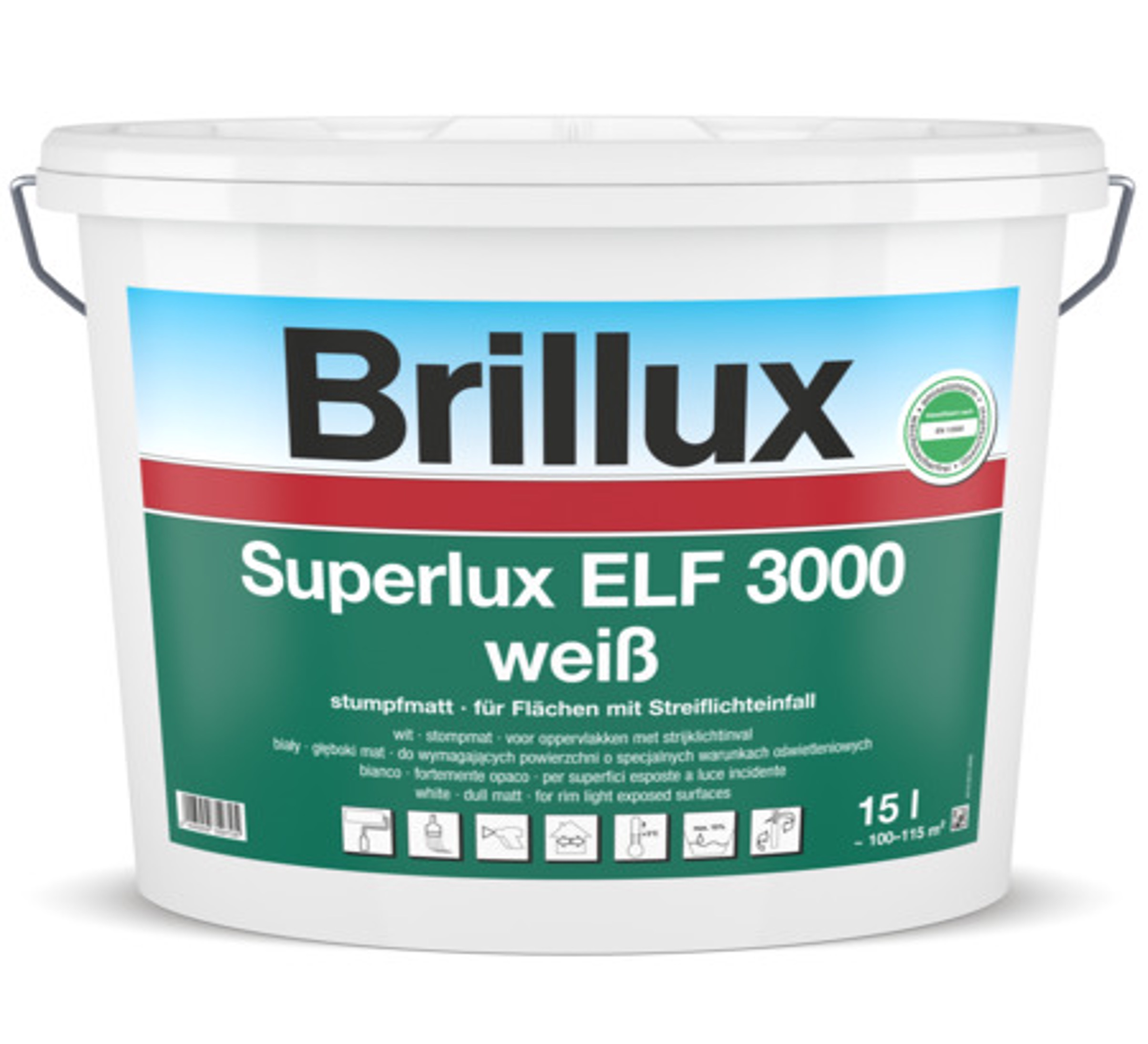 Brillux Superlux 3000 Wand- und Deckenlatexfarbe Image